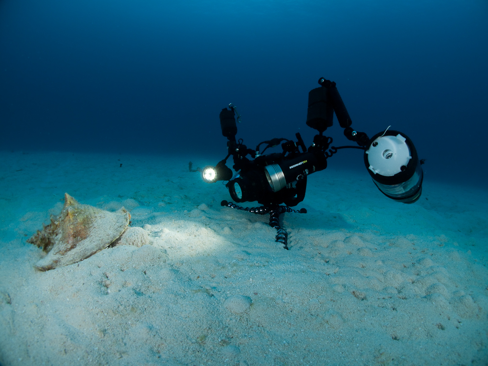 DSLR подводная съемка