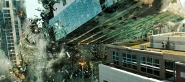 transformers tilted building